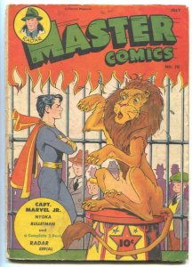 Master Comics #70 1946- Radar- Captain Marvel Jr