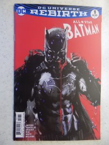 ALL STAR BATMAN(2016) # 1 DC JOCK VARIANT FIRST PRINT