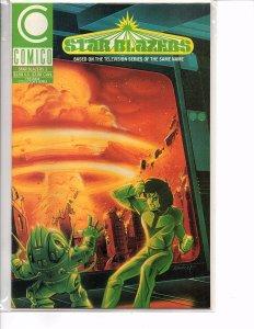 Comico Comics (Vol. 2) Star Blazers #3 Derek Wildstar Nova Ken Steacy Cover
