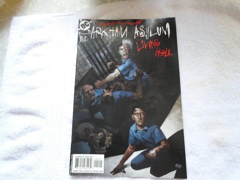 DC COMICS ARKHAM ASYLUM LIVING HELL # 11 ( 2003 )