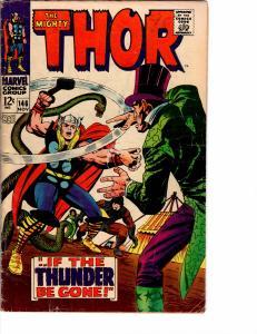 Mighty Thor (1966) 146 Good (2.0) Kirby Inhumans