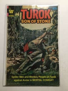 Turok Son Of Stone 128 Very Good/ Very Fine Vg/Vf 5.0 Whitman