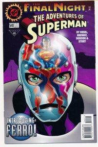 Adventures of Superman (1987) #540 VF