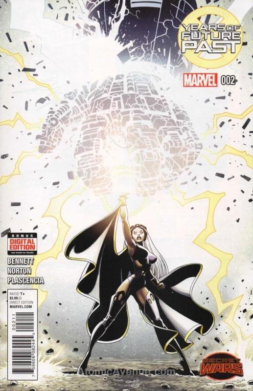 Years Of Future Past #2 VF/NM; Marvel | save on shipping - details inside