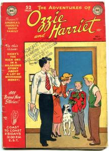 Ozzie and Harriet #2 1949- DC Golden Age- ABC radio- Osmonds VG
