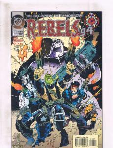 Lot of 3 REBELS DC Comic Books #0 1 2 3 TW42
