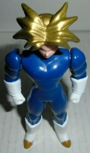 Trunks gold hair variant Dragon Ball Z Action Figure Irwin 1996