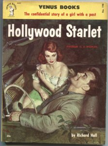 HOLLYWOOD STARLET-VENUS BOOKS #198-1953-SPICY HARDBOILED PULP FUN