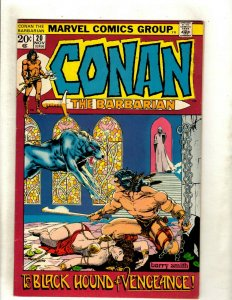 Conan The Barbarian # 20 VF- Marvel Comic Book Elric Red Sonja Kull King RS2