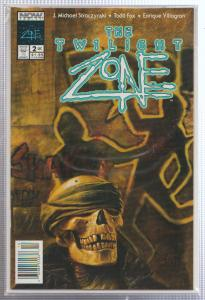 THE TWILIGHT ZONE VOL.#2, ISSUE #2 - NOW COMICS - BAGGED,& BOARDED