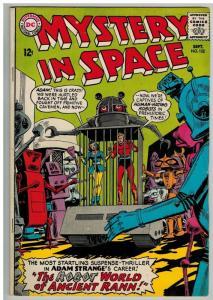 MYSTERY IN SPACE 102 VG September 1965