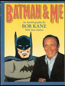 BATMAN & ME: AUTOBIOGRAPHY BY BOB KANE TRADE PAPERBACK VG-