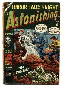 Astonishing #28 PCH ATLAS SKELETON HORROR-UFOS