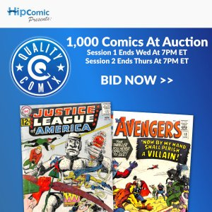 Quality Comix Auction Event #47