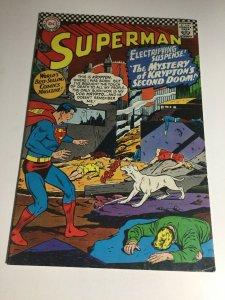 Superman 189 Fn Fine 6.0 DC Comics