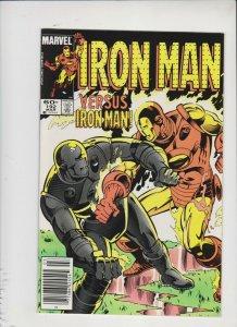 IRON MAN #192 1984 MARVEL /  IRON MAN VS IRON MAN /  NEVER READ / HIGH GRADE