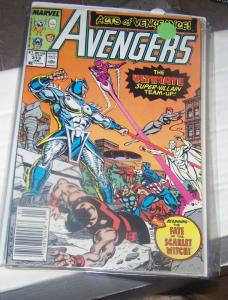 Avengers # 313  1990 Marvel cap  vision quasar thor acts of vengeance scarlet wi