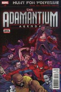 Hunt for Wolverine: Adamantium Agenda #3, NM (Stock photo)