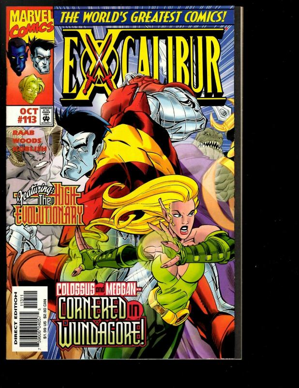10 Excalibur Comics # 111 112 113 114 115 116 117 118 119 120 121 122 123 JF26