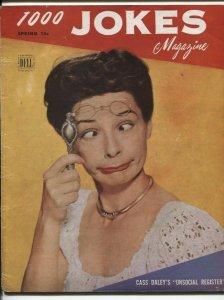1000 Jokes #42 Spring 1947- Dell Cartoon / Joke magazine