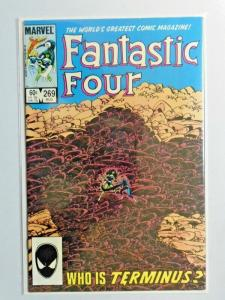 Fantastic Four #269 Direct 1st Series 8.5 VF+ (1984)