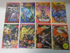 Buck Rogers Lot 8 different issues 8.0 VF