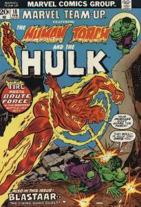 Marvel Team-Up #18 VG; Marvel | low grade comic - save on shipping - details ins