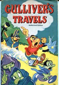 GULLIVER'S TRAVELS-SAALFIELD BOOK #1252 MAX FLEISCHER VG