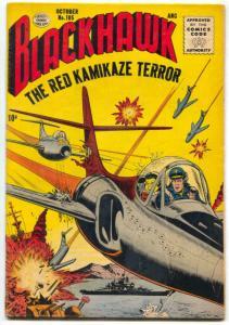 Blackhawk Comics #105 1956-Red Kamikaze Terror FN