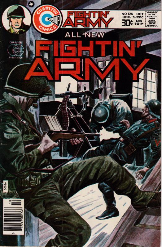 Fightin' Army   Nr.126  OCT.1976  The Killer VF Clean