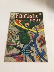 Fantastic Four 83 Vf+ Very Fine+ 8.5 Marvel Comics Silver Age