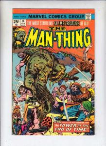 Man-Thing #14 (Mar-75) NM- High-Grade Man-Thing