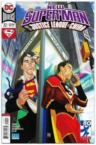 New Super-Man and the Justice League of China #22 Variant Cvr (DC, 2018) NM