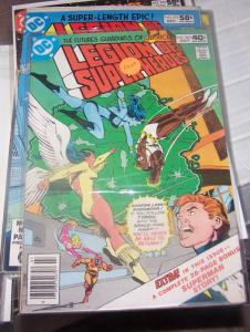 LEGION OF SUPER HEROES # 265 DC july 1980 tyroc dawnstar