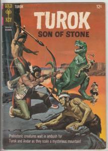 Turok Son of Stone #48 (Nov-69) FN/VF Mid-High-Grade Turok, Andar