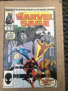 The Marvel Saga The Official History of the Marvel Universe #20 (1987)