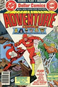 Adventure Comics (1938 series) #465, VF- (Stock photo)