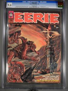 Eerie #28 9.6 CGC #0096493008 Off White to White Pages