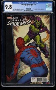 Amazing Spider-Man (2015) #25 CGC NM/M 9.8  Remastered 1:1000 Color Variant!