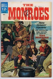 The Monroes #1 ORIGINAL Vintage 1967 Dell Comics