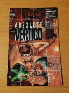 Absolute Vertigo Winter 95 First Preacher! ~ NEAR MINT NM ~ (1995, DC Comics)