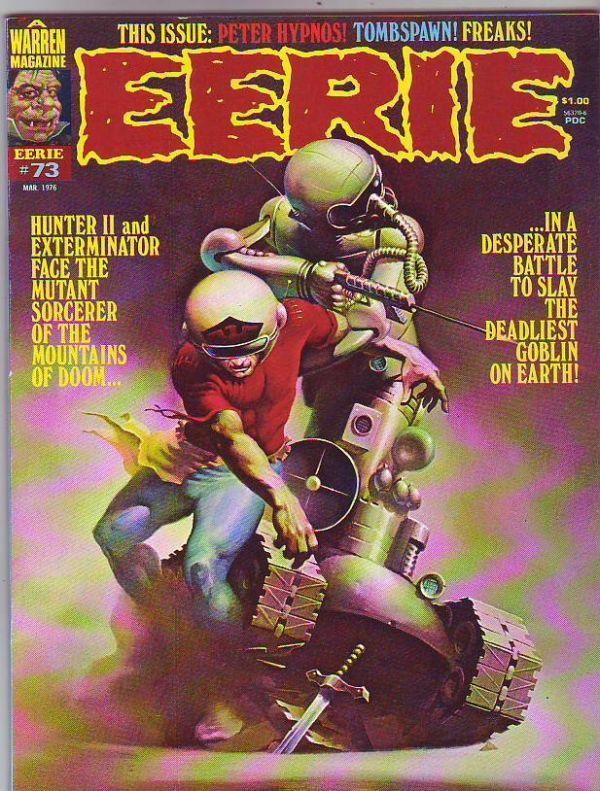 Eerie Magazine #73 (Mar-76) NM Super-High-Grade