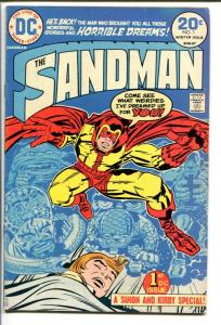 THE SANDMAN #1-1974-JACK KIRBY-DC-FIRST ISSUE FN