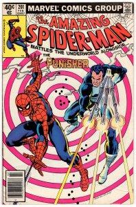 Amazing Spider-Man #201 PUNISHER! Bronze MARVEL
