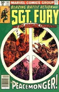 Sgt. Fury #161, VG+ (Stock photo)