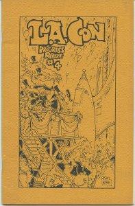 L.A. CON PROGRESS REPORT #4 (Sept. 1972) Kaiser Collection - Scarce!
