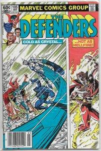 Defenders  vol. 1   #105 GD/VG