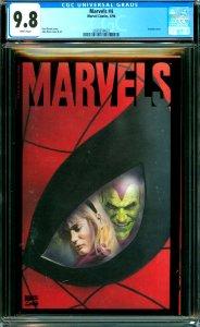Marvels #4 CGC 9.8