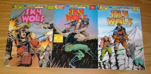 Sky Wolf #1-3 VF/NM complete series - air fighters - chuck dixon set lot 2