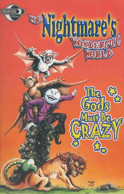 Mr. Nightmare's Wonderful World TPB #1 FN; Moonstone | save on shipping - detail